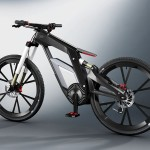 Audi e-bike Worthersee Combines Electric Drive and Muscle Power