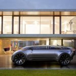 Futuristic Audi e-Tron Imperator: An Autonomous Car with Transparent Roof Pillars and Gullwing Doors