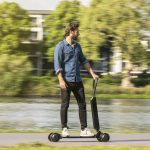 Audi Combines Electric Scooter with Skateboard to Create Audi e-Tron Scooter