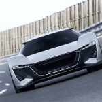Audi PB18 e-Tron Concept Car - High-performance Sports Car with Electric Drive