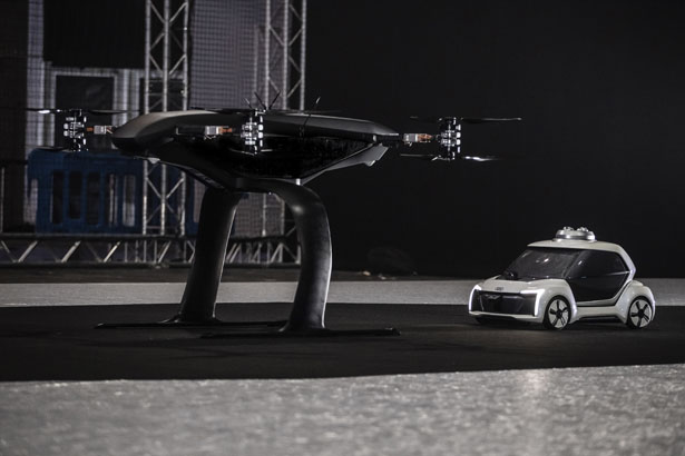 Audi, Airbus, and Italdesign Tests Pop.Up Next Flying Taxi for Our Future Transportation