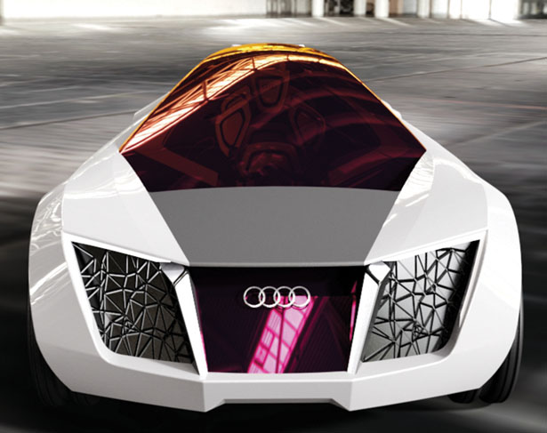 Attractive Audi R02 Concept Sports Car