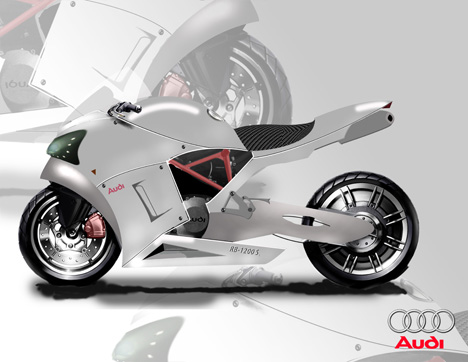RB-1200 S Performance Sports Bike Was Inspired By Audi