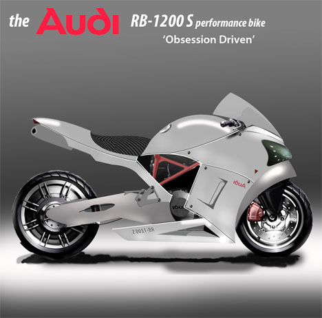 Audi RB 1200 S Performance Motorbike