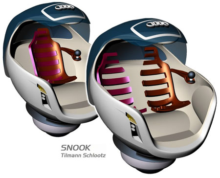audi snook car concept