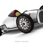 Audi Auto Union Type-D Concept Car by Lukas Vanek