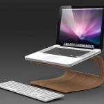 Auka Laptop Stand : Simple and Elegant Laptop Stand