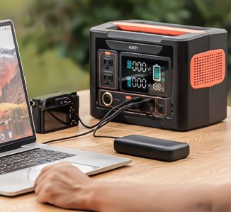 Aukey Plus Portable Power Station for Your Remote Adventure Trip