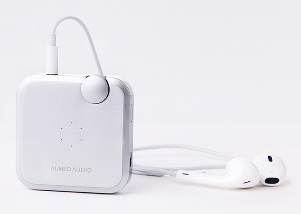 Aumeo Audio Portable Audio-Tailoring Device by Andrea Ponti