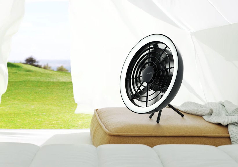 AURA Portable Convertible Fan with Ambient Light