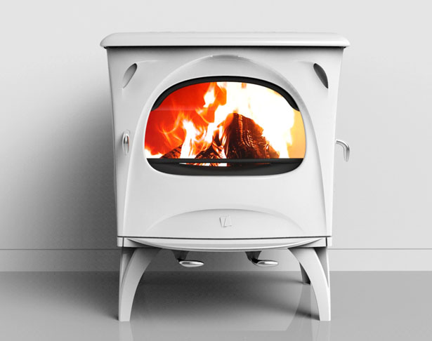 Aurore Wood Stove by Jerome Olivet