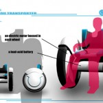 Transporter : An Electric Wheelchair by Nori Sakatsume
