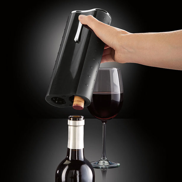 Automatic Wine Opener and Foil Cutter by Elliot Cohen