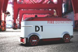 Futuristic Autonomous Fire-Fighting Vehicle to Extinguish Fires Fast and Effectively