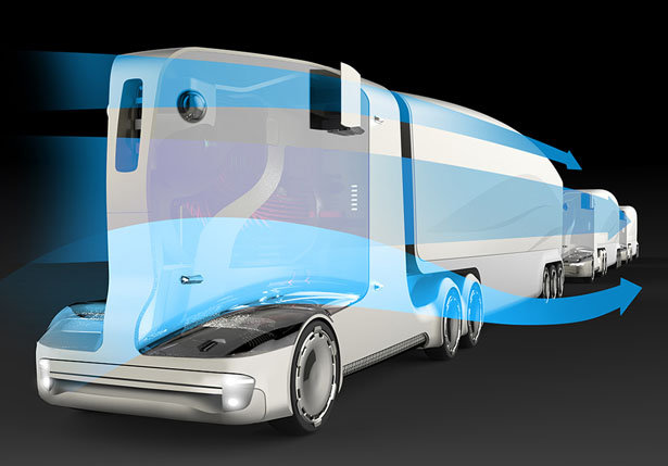 Autonomous Concept Truck by Zoltan Major