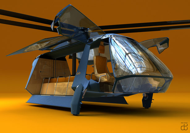 Ava 299 Drop Helicopter