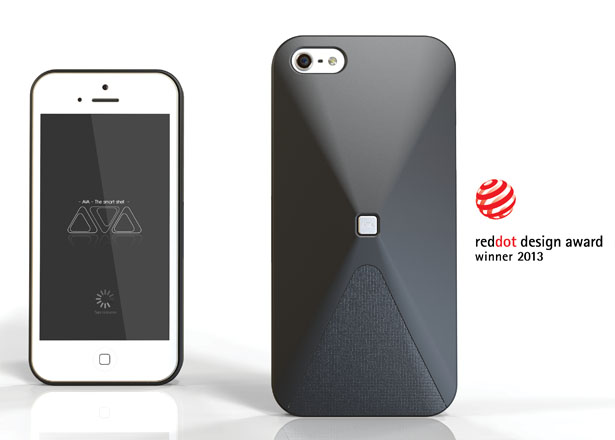 AVA Smart Shell Connects Your Smartphone With Your Social Network Status