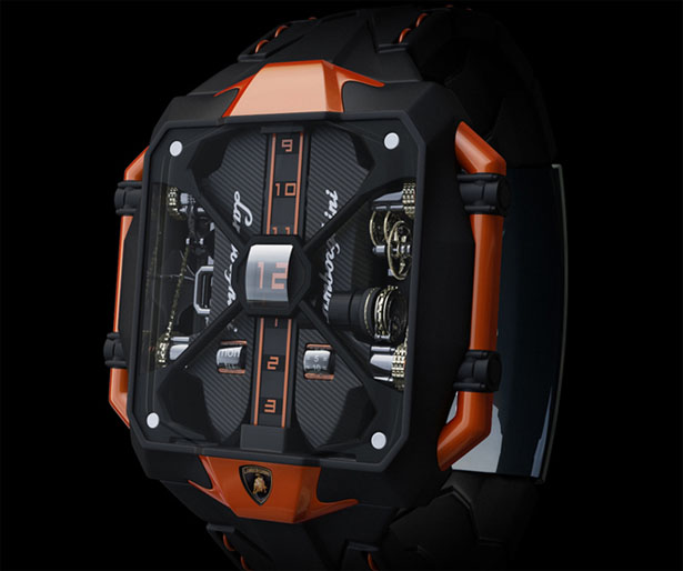 Avenger Vertical Tourbillon Watch Concept by Marko Petrovic