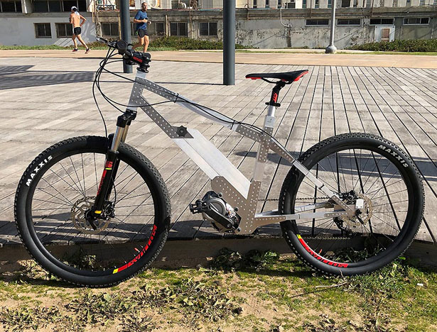 Avial eBike Features Body Frame Made of Aviation Aluminum without Welding