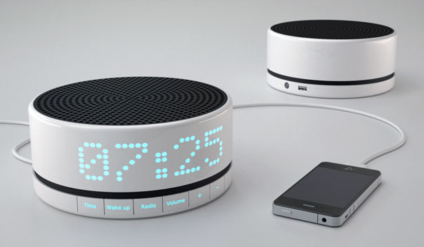 awake digital alarm clock by simon michel tuvie. Black Bedroom Furniture Sets. Home Design Ideas