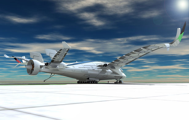 AWWA-QG Progress Eagle Concept Plane by Oscar Vinals