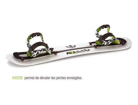 axess skiing board