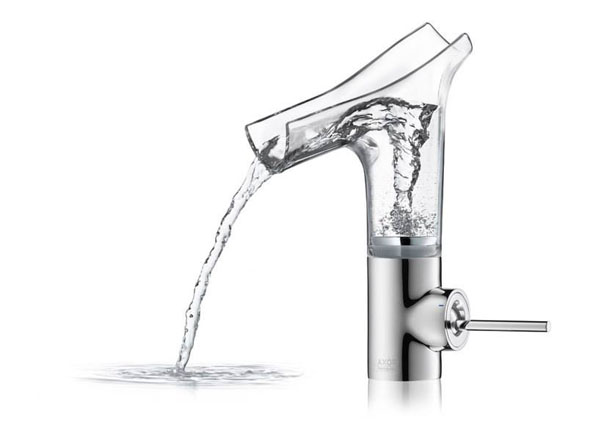 Axor Starck V Washbasin Mixer by Philippe Starck