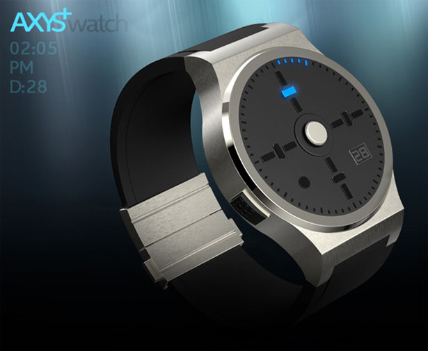 AXYS Watch Concept by Jose Manuel Otero