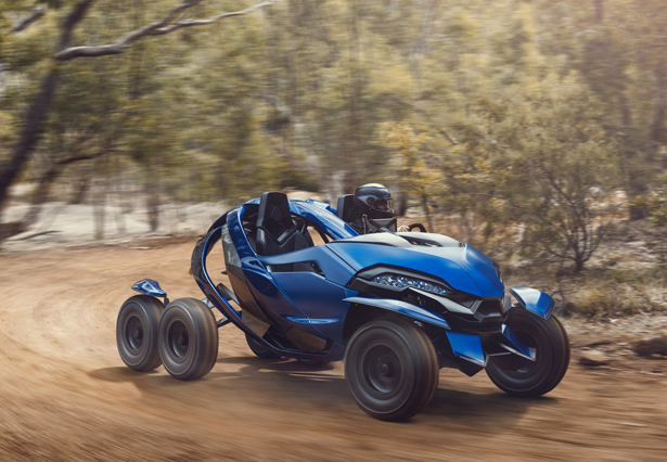 Azaris Six Wheeled Off-Road Advanced Vehicle