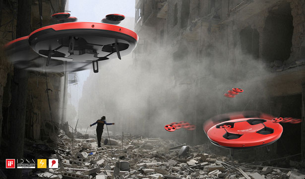 B Drone: Earthquake Disaster Rescue System Drone by Jeong Hwan Sohn