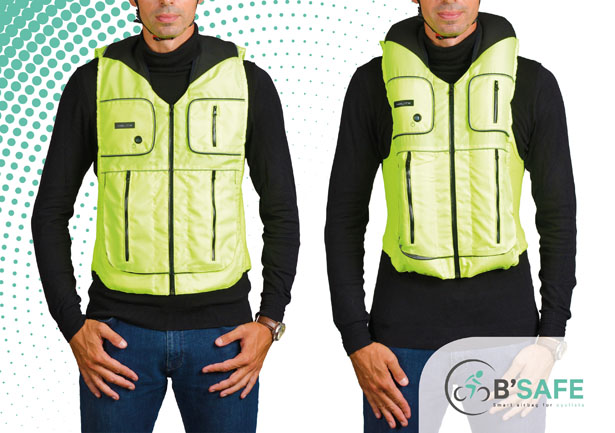 B'Safe Smart Airbag for Cyclists