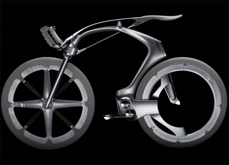B1K Concept Bicycle Features Unique Chainless Drivetrain