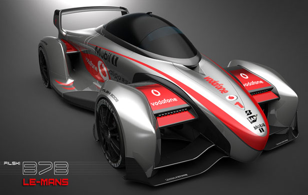 Electric Super Race Car Uses Supercapacitors To Create