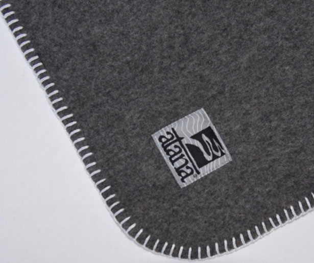 Carry Your Blanket in Style with Baba Wrap Recycled Wool Blanket