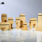 Baboo Wooden Clips by Shahaf Ben Abu