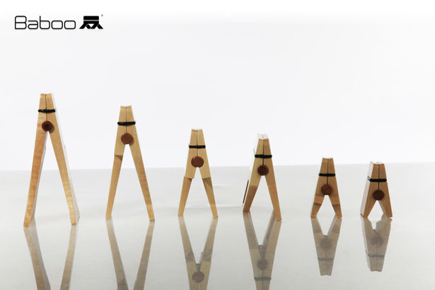 Baboo Wooden Clips