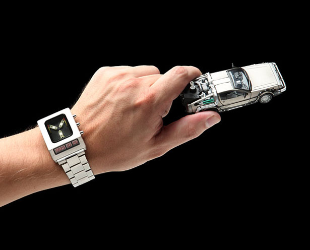 Back to the Future Flux Capacitor Wristwatch