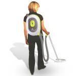 BacVac Fuel Cell Vacuum Cleaner with Backpack-Style