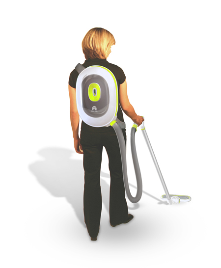 BacVac Fuel Cell Vacuum Cleaner with Backpack-Style | Modern ...