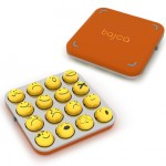 Bajca is A Cool Emoticon Keypad and Also Cute Personal Jewelry to Wear