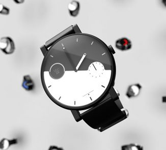 Balance Watch Integrates E-Ink Display Into Its Dial to Send Out Notifications