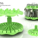 BALERINA Dish Rinsing and Storage Tool For Modern Kitchen