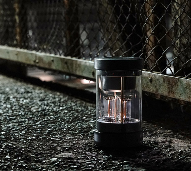 BALMUDA The Speaker - Bluetooth Speaker with Air Tight Glass Body and LED Lights