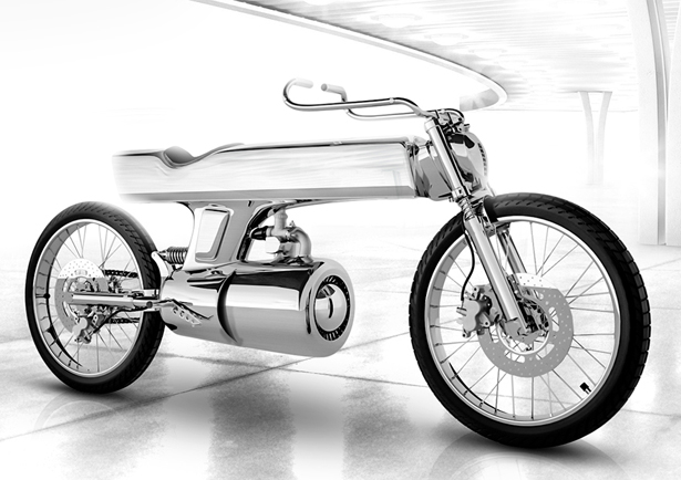 L Concept Motorcycle by Bandit9