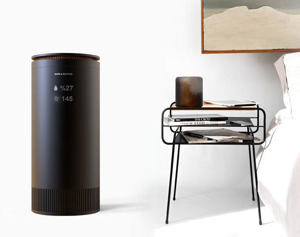 BeoAir: Air Purifier and Humidifier Concept Proposal for Bang & Olufsen by Sıla Tülay Zeytin