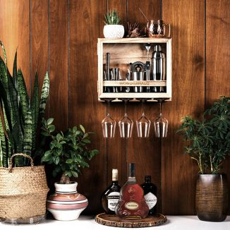 Barbox – Stylish Mini Bartending Kit That Decorates Your House as Well