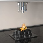 Basalto Fireplace Design Was Inspired By Giant's Causeway