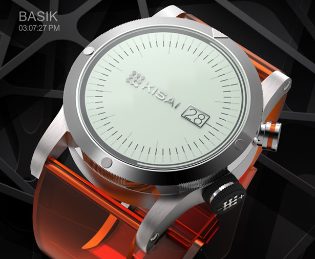BASIK Watch by Jose Manuel Otero