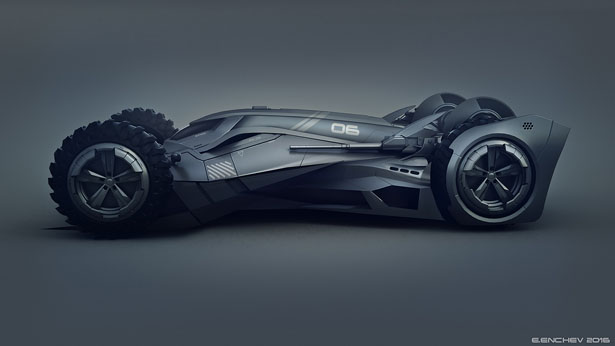 Batmobile concept car by encho enchev tuvie - Badmobel designer ...
