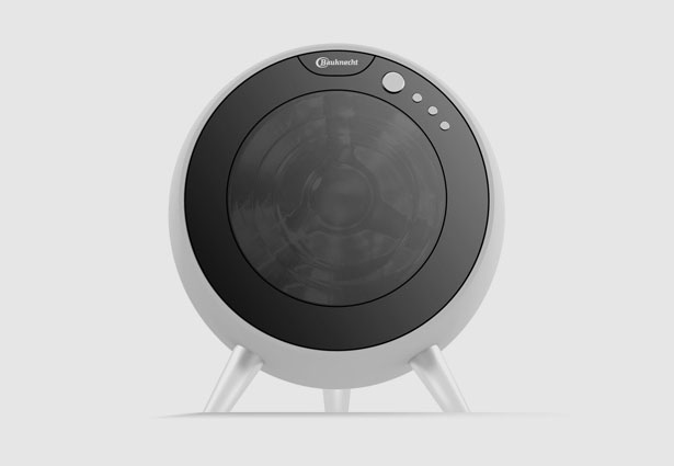 Future Bauknecht Round Washing Machine by Arman Emami